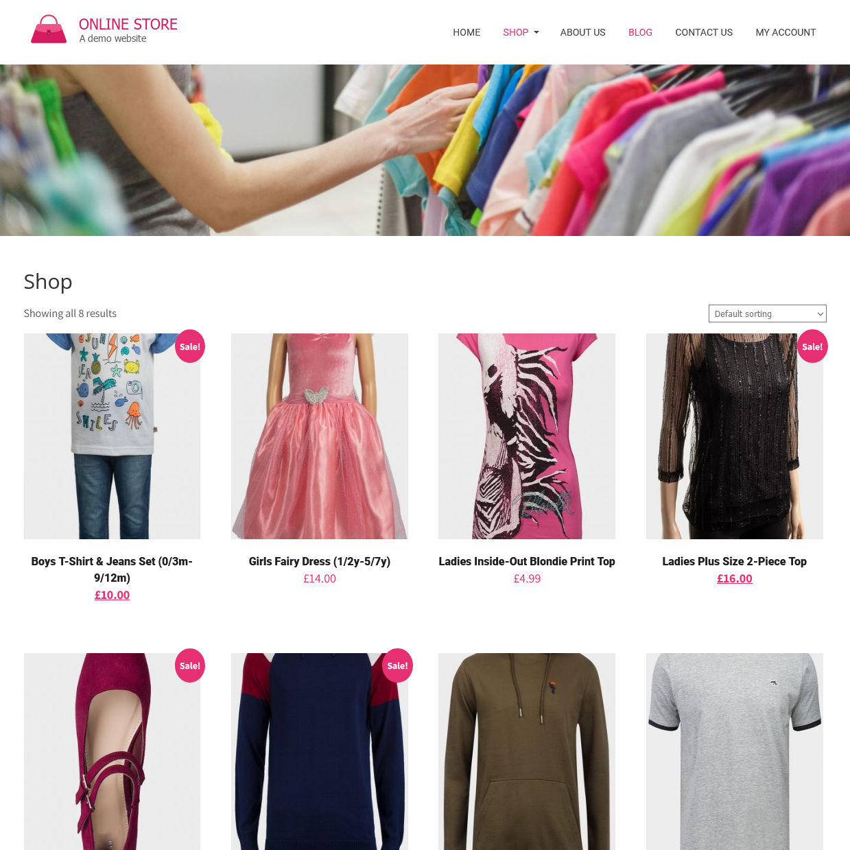 Online Store, E-Commerce Website, Online Shop Design